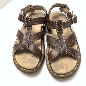 Dr. Martens Brown Leather Sandals